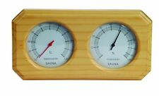 New Sauna Equipment And Accessories Sauna Room Thermometer and Hygrometer