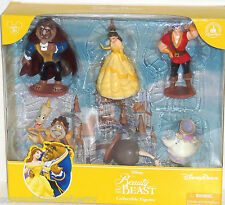 Disney Beauty and the Beast Figure Set  Princess Belle Mrs Potts Theme Parks