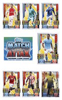 Match Attax 2015/16 Trading Cards Individual Man of the Match Cards MOTM 361-420