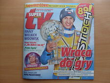 KAMIL STOCH on front cover Polish Magazine SUPER EXPRESS TV 47/2014