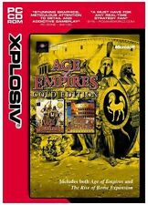 Age OF EMPIRES GOLD EDITION inc rise of rome neuf