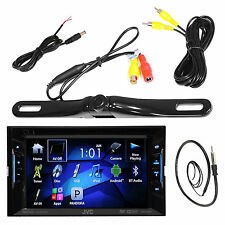 KWV120BT Bluetooth USB DVD CD JVC Receiver, Antenna, Black Rear Back Up Camera
