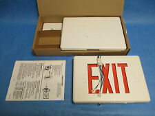 Chloride Systems Plastic LED Exit Light, New in Box!!!