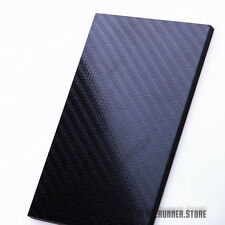 """1/8""""x 5"""" x 3"""" Standard Laminated Carbon Fiber Knife Scales {ABCO}"""