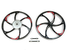 Aluminum Wheels with 44T Sprocket HY-22 (Black) 80CC Gas Motorized Bicycle