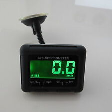 Universale Wireless Digitale GPS Speedo LCD Display MPH KPH Tachimetro