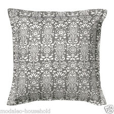 Ikea Stylish CUSHION COVER ÅKERKULLA  Akerkulla white, grey 65x65cm COTTON-B787