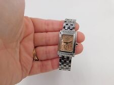 Beautiful High End Swiss Ladies Longines Dolcevita Watch with Rose Gold Face