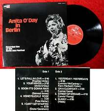 LP Anita O´Day in Berlin (MPS BASF 21 20750-1) D 1970
