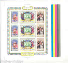 LESOTHO 80th BIRTHDAY OF THE QUEEN MOTHER  IMPERFORATED SHEET RARE