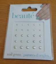 Brand New Beaute Nail Stone Sticker Nail Gems 25 pcs.