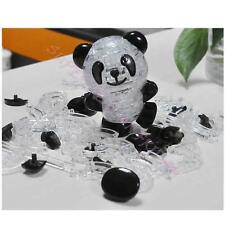 3D Crystal Puzzle Jigsaw Model Diy Panda Intellectual Toy Gift Furnish Gadget