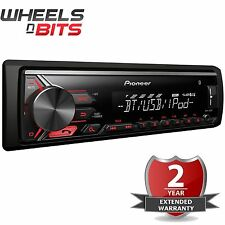 Nuevo Pioneer MVH-390BT Bluetooth Radio MP3 USB AUX IN iPod iPhone auto estéreo 1Din