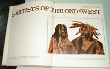 Artists of the Old West Book by John C. Ewers w/ Gold Rush Mines and Miners