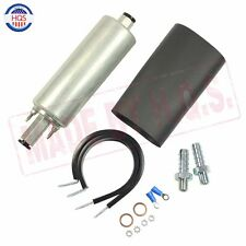 255LPH External Inline FUEL PUMP GSL392 GSL-392 HIGH PRESSURE FUEL PUMP W/KIT