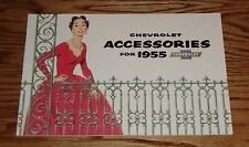 1955 Chevrolet Accessories Sales Brochure 55 Chevy