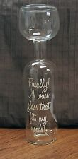 Ultimate Wine Bottle Glass Holds a Whole Bottle Drink 750ml Novelty Gift