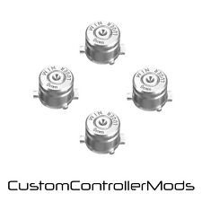 Replacement Bullet Action Buttons For PS3 PS4 Controller Custom Mod Kit - Silver