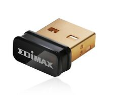 Edimax EW-7811Un 150Mbps 11n Wi-Fi USB Adapter Nano Size Lets You Plug it and...