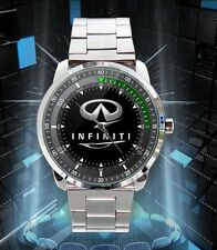 Buy Now Infiniti Car Logo Stainless Steel Metal Watch