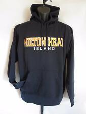New Hilton Head Island Adult Mens Medium (M) J.America Navy Hoodie