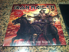 IRON MAIDEN 2 LP DEATH ON THE ROAD LIMITED EDITION DOUBLE PICTURE666