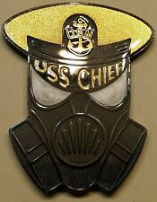 USS Chief (MCM-14) Firefighting Training Division Navy Challenge Coin