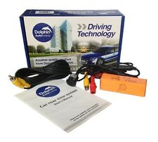 Micro Parking Camera Rear View Car Reverse Reversing Bumper Cam With Guide Lines