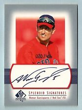 NOMAR GARCIAPARRA 2003 SP AUTHENTIC SPLENDID SIGNATURES AUTOGRAPH AUTO /406