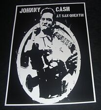 Johnny Cash At San Quentin poster print