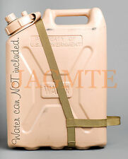 EASY POUR STRAP-2 Handle-MWC-Brown- for your Scepter & LCI Military WATER Can