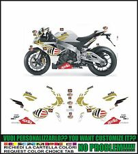 kit adesivi stickers compatibili rsv4 moto gp