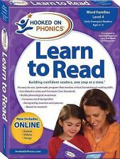 Hooked on Phonics Learn to Read - Level 4: Word Families (Early Emergent Readers