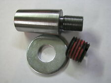 "MT4-4MT-Wood Lathe Spindle - Morse Taper 4 to 1""-8TPI & 3/4-16 - LatheCity"