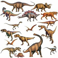 DINOSAURS 16 BiG Wall STICKERS Boys Room Decor Decals Bedroom Decoration T-REX