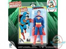 "DC Retro 8"" Superman Series 1 Superman Figures Toy Company"