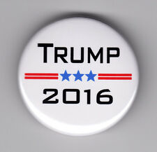 """DONALD TRUMP For President 2016 button campaign 1-1/2"""" pin pinback election"""