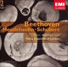 Beethoven: Septet & Octet - Mendelssohn & Schubert: Octets - Melos Ensemble of L