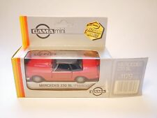 MERCEDES W R 113 230 SL Pagode ROSSO ROUGE Roja Red, Gama replica 1:37 > 1:43 Boxed!