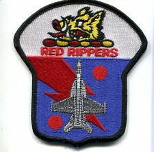VFA-11 RED RIPPERS BOEING F-18 HORNET US Navy Fighter Squadron Jacket patch