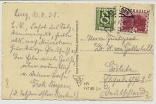ÖSTERREICH 1933 AUSLANDSKARTE, ST.GEORGEN nach GÖRLITZ (Deutschland)