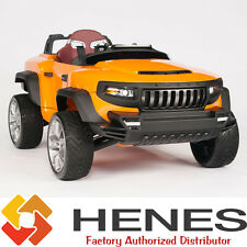 HENES BROON T870 Kids Ride On Car 24V Electric Power Wheels Remote Control Truck