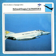 SCHEDA TECNICA AEREI - McDONNELL DOUGLAS F-4J PHANTOM II - (USA)