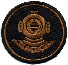 SCUBA DIVING EMBROIDERED DIVE PATCH skin DIVER DEEP SEA NAUTICAL DIVERS