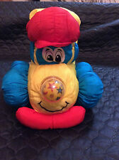 Tonka 1995 Squeeze N Shine Plush Pal Bed light Toy