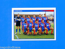 CALCIATORI PANINI 1998-99 Figurina-Sticker n.476 - COSENZA SQUADRA -New