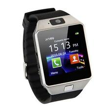 Unisex Men Women Bluetooth Smart Watch Phone Mate GSM SIM For iPhone Android
