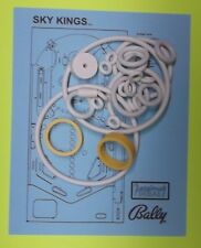 1974 Bally Sky Kings pinball rubber ring kit
