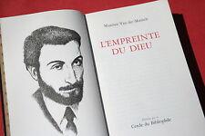 L'EMPREINTE DU DIEU par MAXENCE VAN DER MEERSCH  éd. EDITO GENEVE