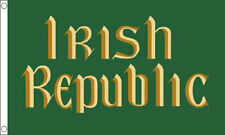 IRISH REPUBLIC EASTER RISING FLAG 5' x 3' Ireland 1916 Celtic Republican Banner